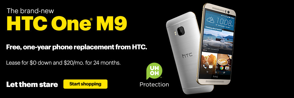 HTC One M9 now available
